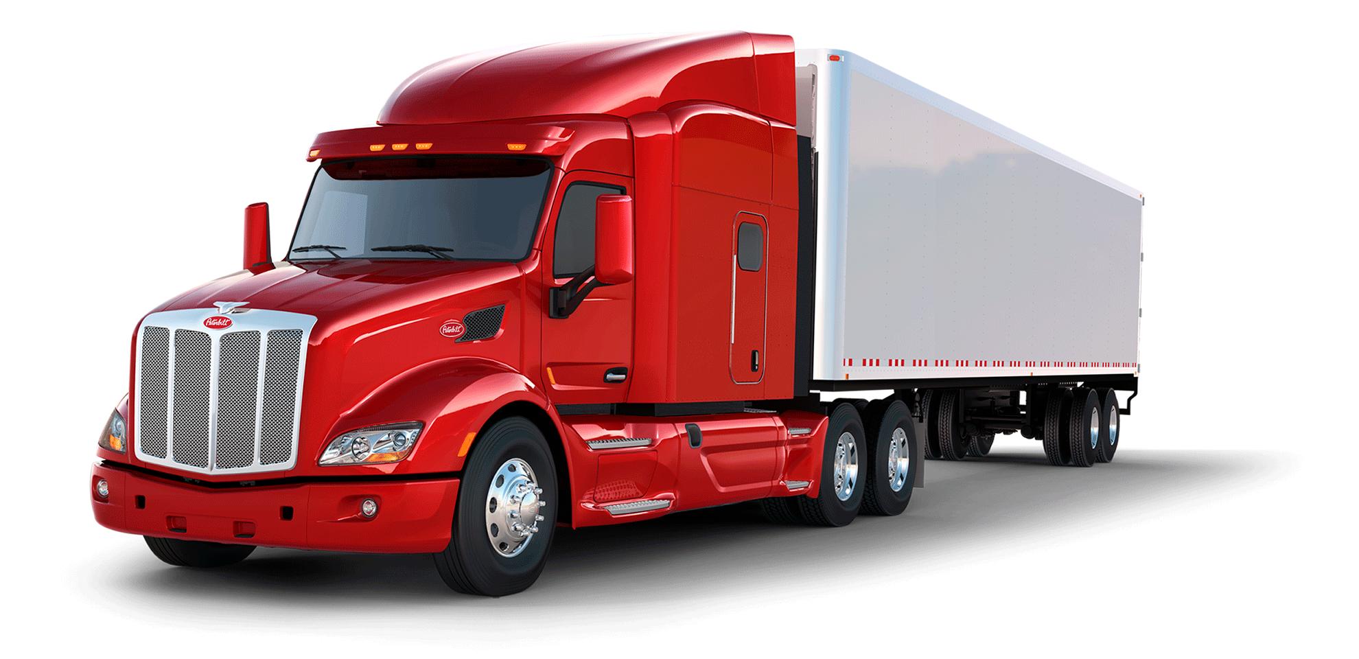 UbiTec - servicio de monitoreo gps - camión rojo