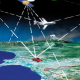 UbiTec Como funciona el GPS - Diferentes lineas conectan los satelites