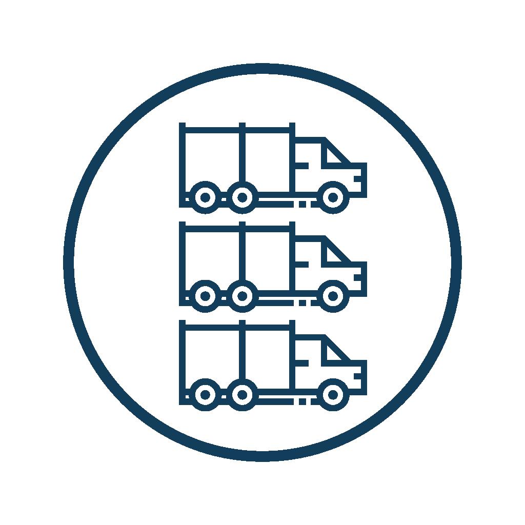 UbiTec - Paquetes de rastreo GPS - flotilla de camiones