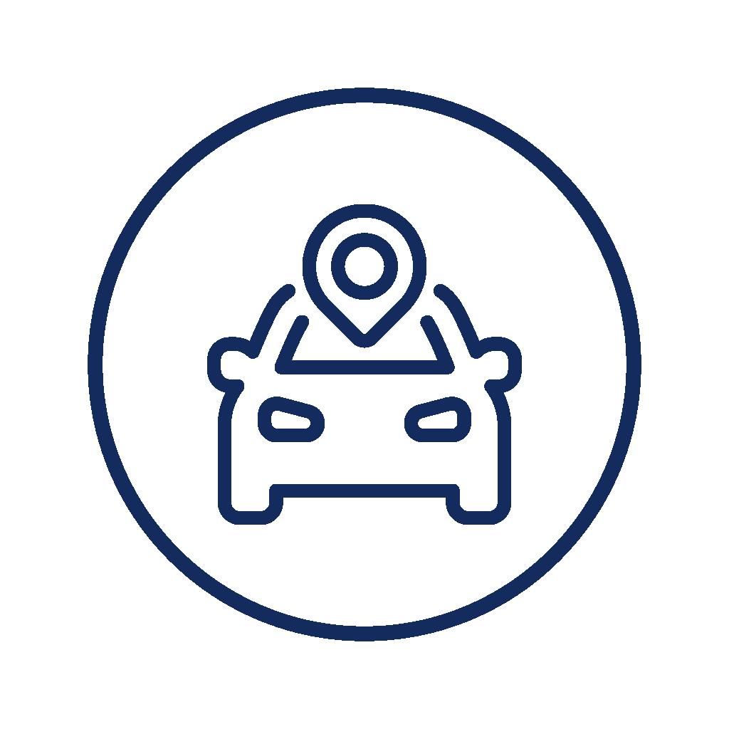UbiTec - Paquetes de rastreo GPS - ruta de carro