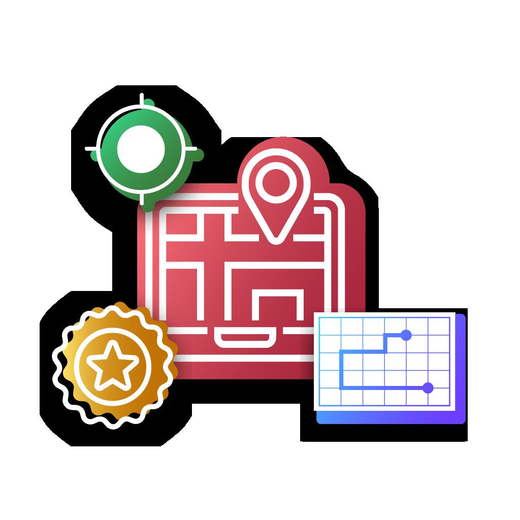 UbiTec - servicio gps - mapa con localizador