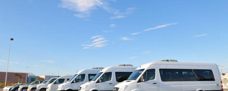 UbiTec - Administra tu flotilla con un sistema de posicionamiento GPS - flotilla de camines color blanco